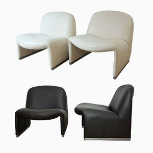 Alky Armchairs by Giancarlo Piretti for Castelli, 1972, Set of 4