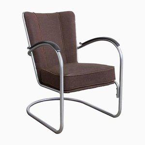 412 Sessel von W.H. Gispen für Gispen, 1960er