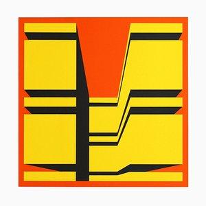 Silkscreen by Guy Baekelmans, 1970s