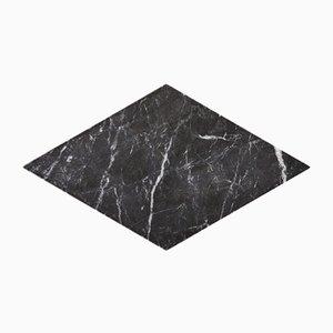 Piatto diamante Losanga in marmo carnico di Stories of Italy