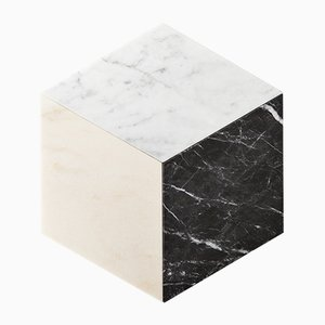 Losanga Marble Diamond Plates by Stories of Italy, Set of 3