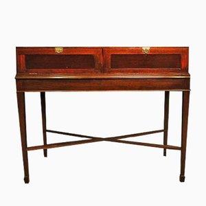 Antique Mahogany Display Cabinet, 19th Century