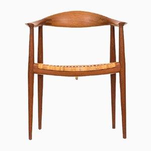 Mid-Century JH-501 Armchair by Hans Wegner for Johannes Hansen