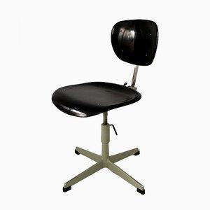 Industrial Steel & Plastic Chair, 1970s