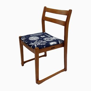 Teak Chair with Herb Upholstery