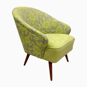 Green Armchair with Flowers, 1960s
