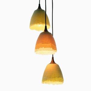 Lampes Shell par Nir Meiri, Set de 3