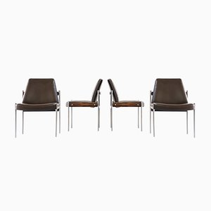 Chairs by Sven Ivar Dysthe for Dokka Mobler, 1960s, Set of 4