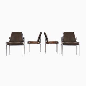 Stühle von Sven Ivar Dysthe für Dokka Mobler, 1960er, 4er Set