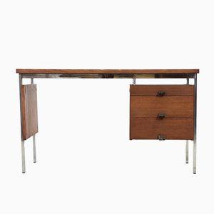 Vintage Teak & Chrome Desk, 1960s