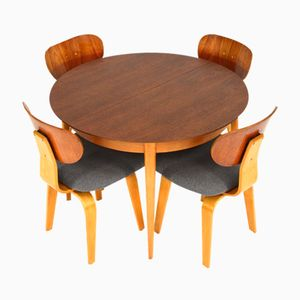 Model TB05 Dining Table by Cees Braakman for Pastoe, 1950s