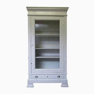 Light Gray Wooden Medicine Cabinet