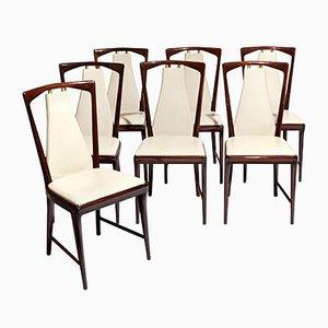 Dining Chairs by Osvaldo Borsani for Arredamento Borsani, 1949, Set of 7