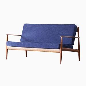 Danish Teak Sofa by Grete Jalk for France & Søn