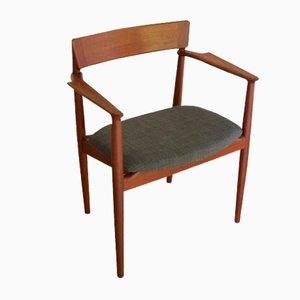 Danish Armchair by Henry Rosengren Hansen for Brande Mobelindustri, 1960s