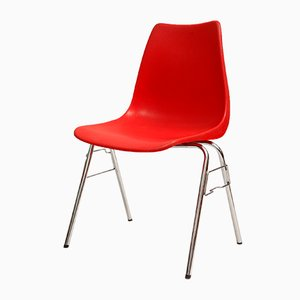 Red Chair from Casala, 1970s