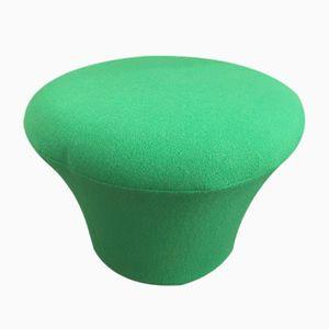 Grüner Vintage Mushroom Pouf von Pierre Paulin für Artifort, 1980er