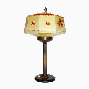 Vintage Art Deco Brass Lamp