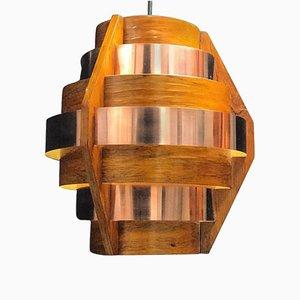 Swedish Copper Pendant from Hans-Agne Jakobsson, 1960s