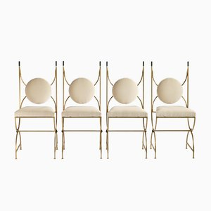 Chairs by Robert Thibier, 1960s, Set of 4