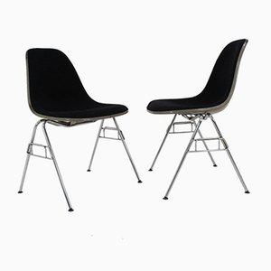 Chaises à Coque par Charles & Ray Eames pour Herman Miller, 1968, Set de 2