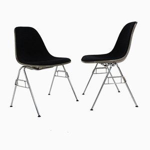 Shell Chairs by Charles & Ray Eames for Herman Miller, 1968, Set of 2