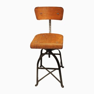 Industrial Chair from Bienaise, 1950