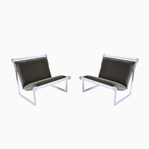 Sling Lounge Chairs by Hannah Morrison for Knoll, 1970s, Set of 2
