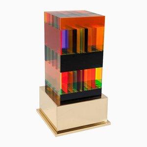 Plexiglas DNA Lampe von Studio Superego für Poliedrica