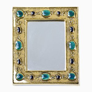 Mid-Century Jewels Mirror by Francois Lembo