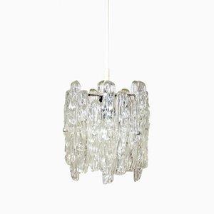 Lucite Hanging Lamp by J. T. Kalmar for Kalmar, 1960s
