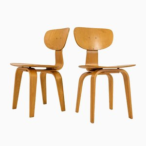 SB02 Combex Series Chairs by Cees Braakman for Pastoe, Set of 2
