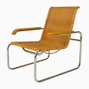 Chaise Lounge Vintage B 35 par Marcel Breuer pour Thonet, 1970s