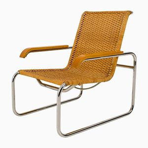 Vintage B 35 Lounge Chair by Marcel Breuer for Thonet, 1970s