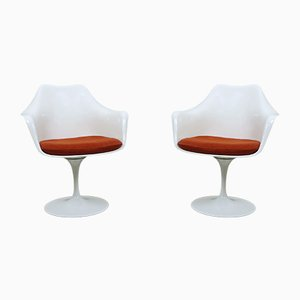American Tulip Armchairs by Eero Saarinen for Knoll International, 1950s, Set of 2
