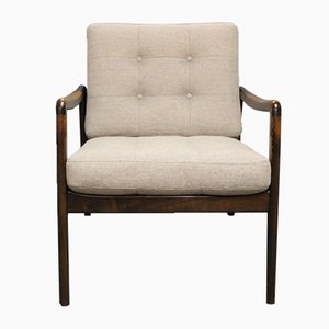 Easy Chair in Teak by Kai Kristiansen, 1960s