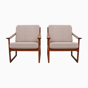 Vintage FD-130 Easy Chairs by Peter Hvidt & Orla Molgaard-Nilsen for France & Søn, Set of 2