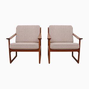 Vintage FD-130 Sessel von Peter Hvidt & Orla Molgaard-Nilsen für France & Søn, 2er Set