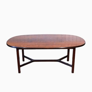 Rosewood Coffee Table by Torbjørn Afdal for Bruksbo, 1972