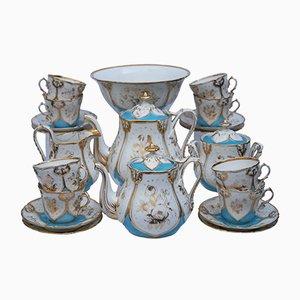 Antique Paris Porcelain Tea Service, 1850