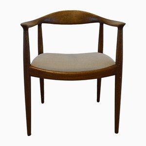 Chaise 503 Mid-Century par Hans J. Wegner pour Johannes Hansen