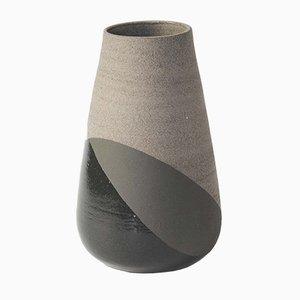 Large Grey & Black Shake Vase by Anja Borgersrud for Anbo Design