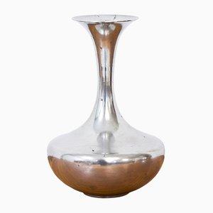 Schwedische Vase aus Zinn von C. G. Hallberg, 1930er