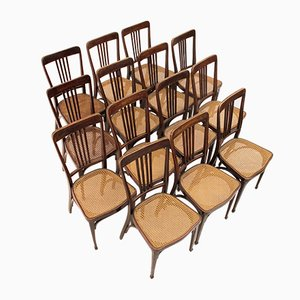 Art Nouveau Mod. 675 Chairs from Thonet, 1900s, Set of 6
