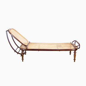 Antique Lounger Number 1 from Gebrüder Thonet