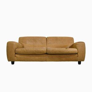 Vintage Italian Leather Sofa from Molinari