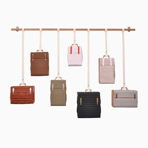 Tassenkast with 7 Bags by Lotty Lindeman