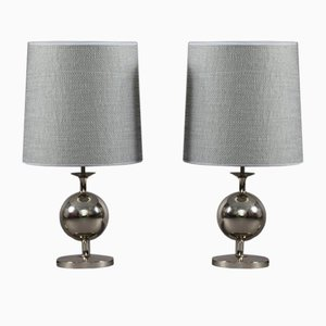 German Space Age Table Lamps from Staff Leuchten, 1970s, Set of 2