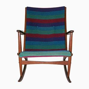 Rocking Chair par Holger Georg pour Tonder & Kubus, 1958