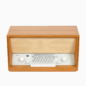 Vintage Model TS 3 Radio by Herbert Hirche for Braun